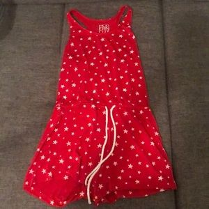 Star Romper. Perfect for Fourth of July.